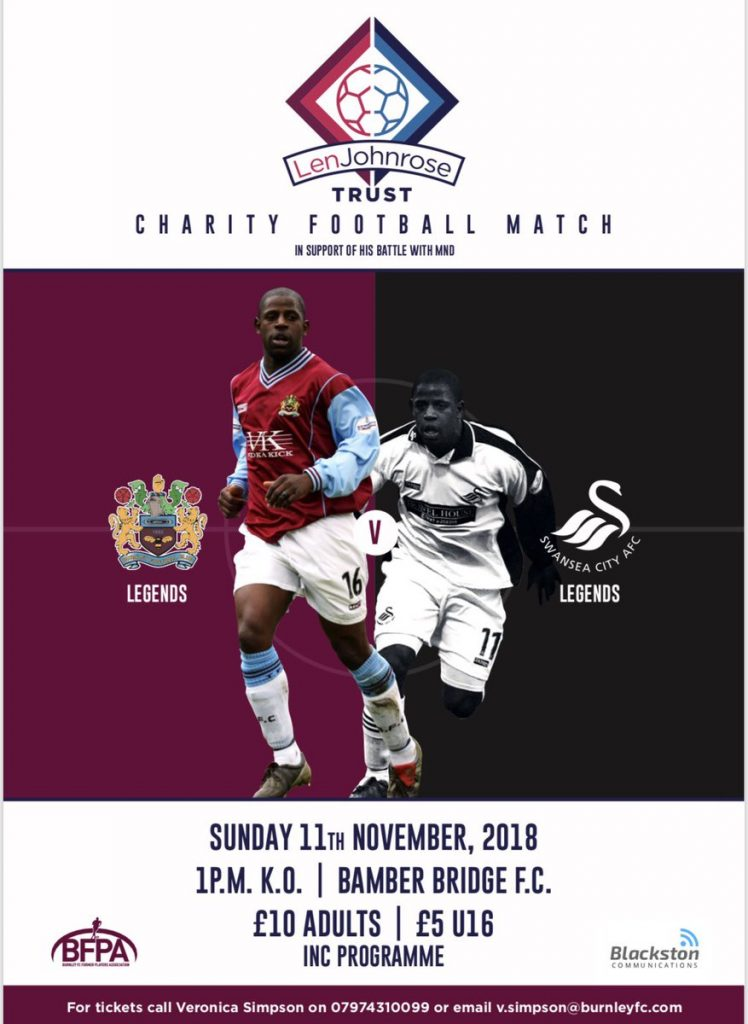 LJ Charity Match 2018 Poster