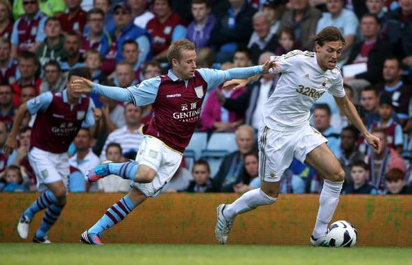 Michu - Aston Villa v Swansea City