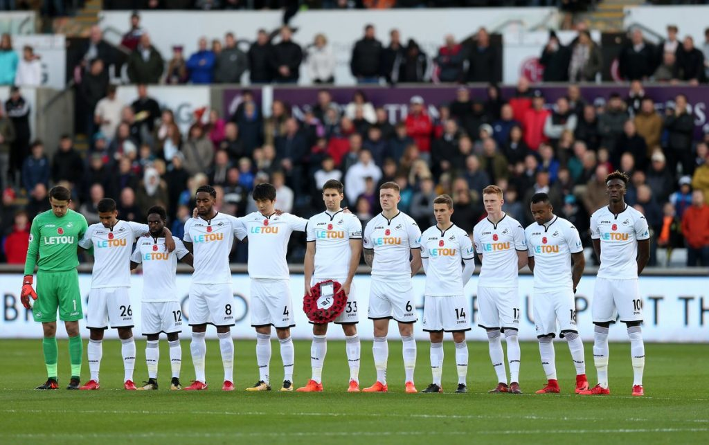 Swansea City - Lest We Forget 2017