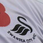 Swansea City Poppy on Shirt