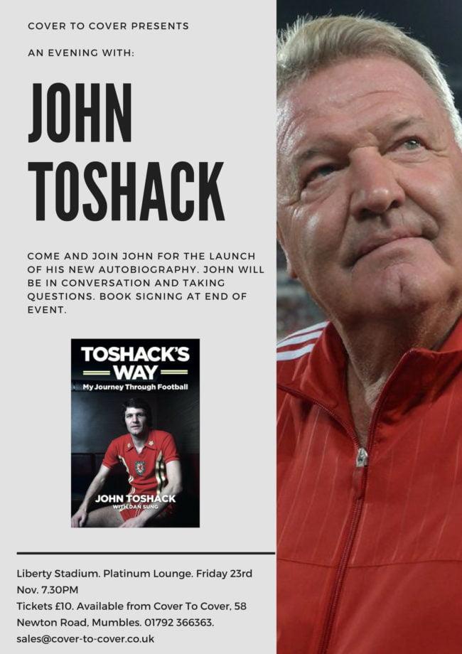 John Toshack autobiography