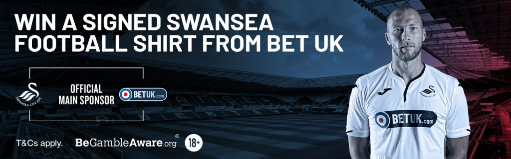 BetUK Swansea shirt competition