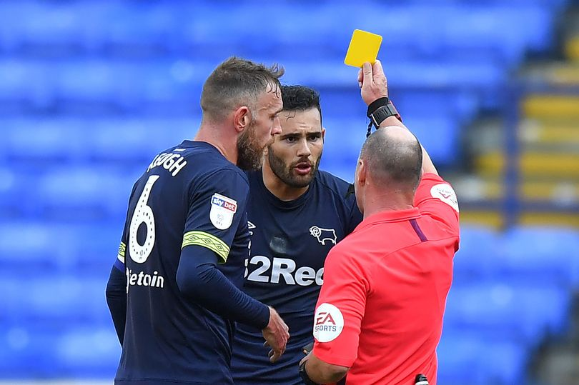 Derby yellow cards