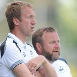 Graham Potter and Billy Reid