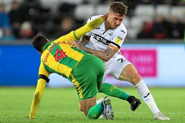 Joe Rodon v West Brom