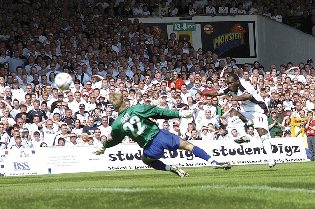 Adrian Forbes last league goal at the Vetch