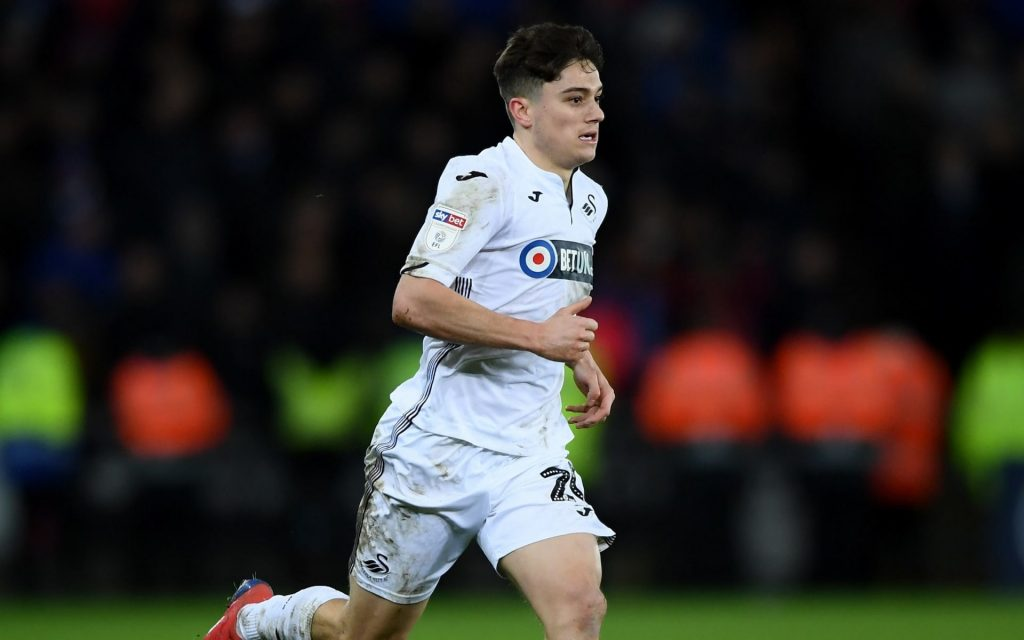 Daniel James of Swansea City