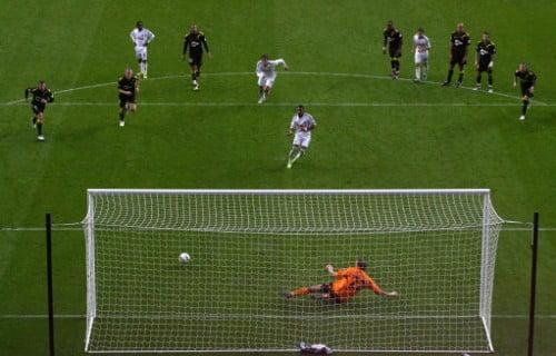 Scott Sinclair penalty v Bolton