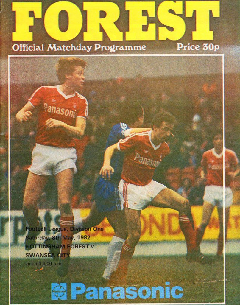 Forest v Swans Match Programme 1982