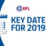 EFL 2019/20 Season Key Dates