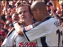 Andy Robinson and Lee Thorpe