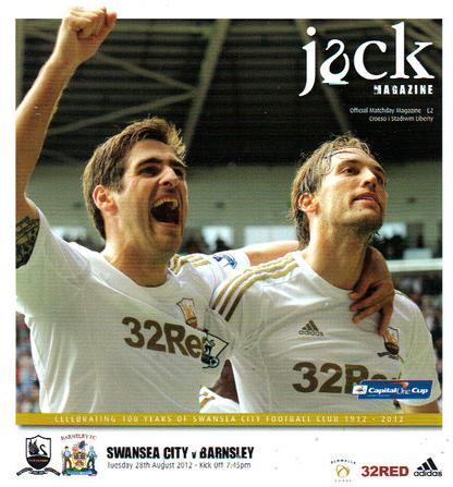 Swansea v Barnsley Programme 2012-2013