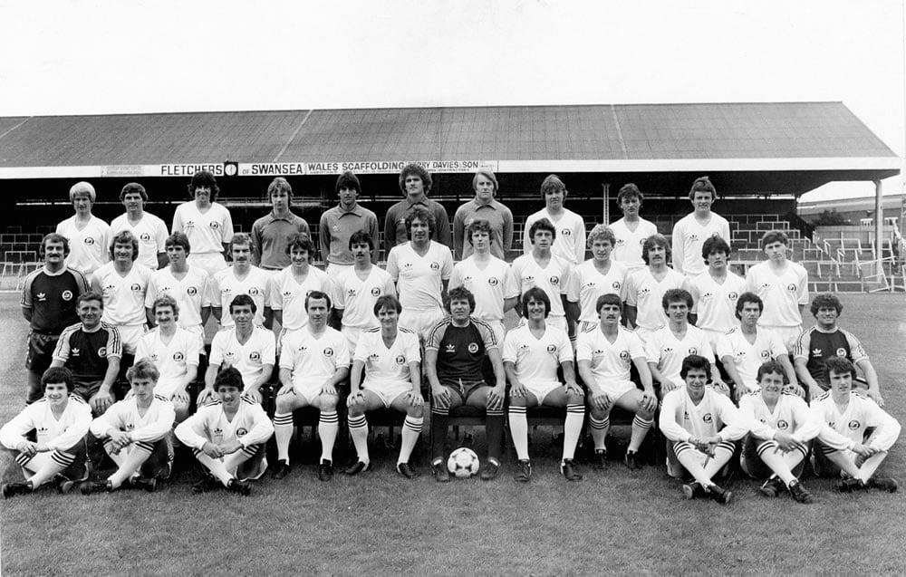 Swansea City team 1980
