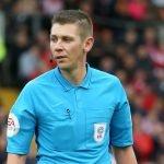 Referee Matthew Donohue