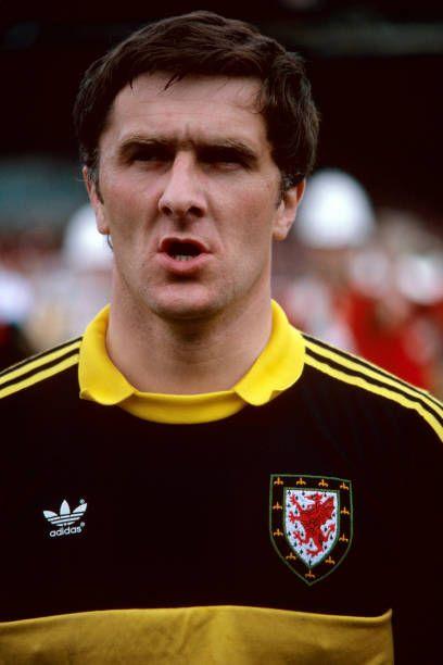 Dai Davies representing Wales
