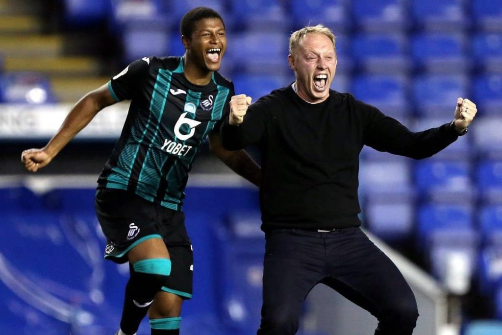Rhian Brewster and Steve Cooper
