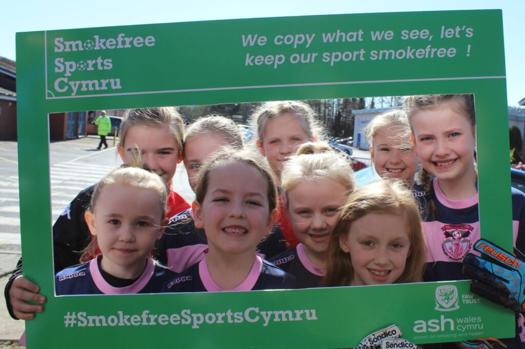 Smokefree Sports in Wales