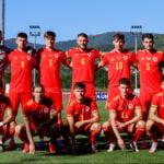 Wales U21s squad v Bosnia & Herzegovina U21