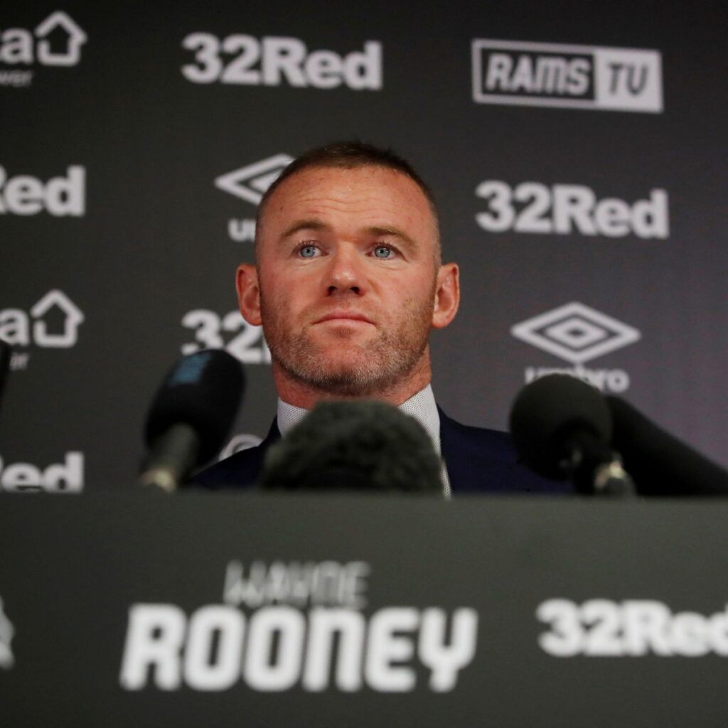 Derby County Wayne Rooney Press Conference