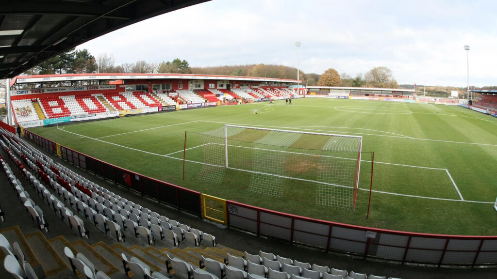 The Lamex Stadium - home of Stevenage