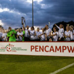 WPWL Cup Final, Swansea City v Cardiff City, Newport, Wales.
